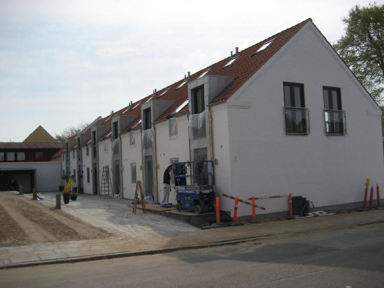 Ejerlejligheder ved Christiansgave, Hjørring Opført i 2011