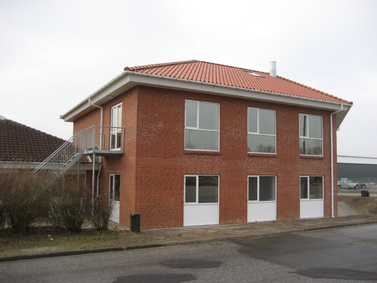 Ny kontorbygning Opført i 2010
